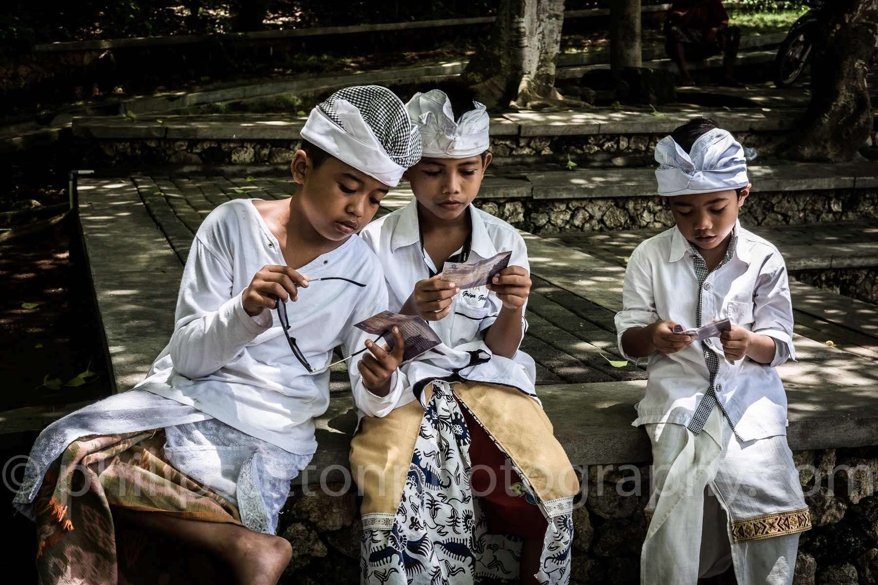 Three Little 'Merchants'