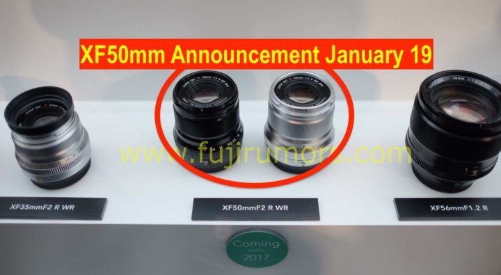 Fujifilm XF50mmF2 WR Black and Silver at Photokina