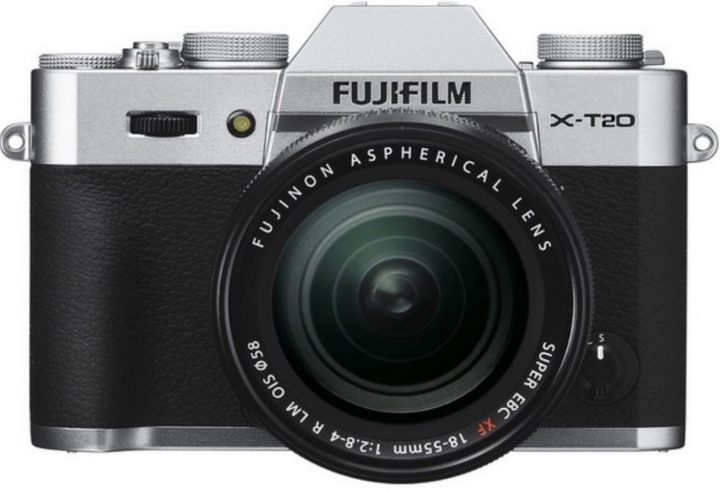 Fujifilm X-T20 Mock Up