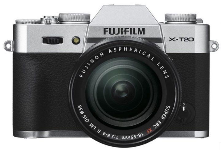 Fuji X-T20 Mock Up
