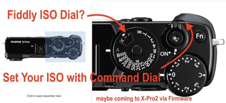 Fiddly ISO Dial? Fujifilm X100F Allows You to Change ISO Value with