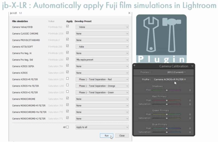 This Lightroom Plug-in Reads Fujifilm's Film Simulation from