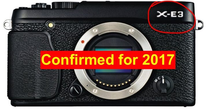 Fujifilm X-E3 Mock-up