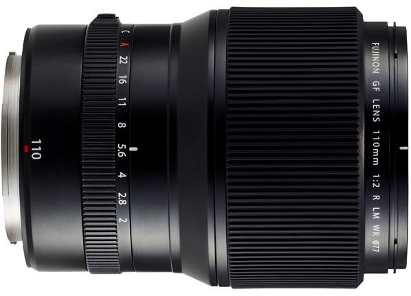 Fujinon GF 110mm F2 WR LM