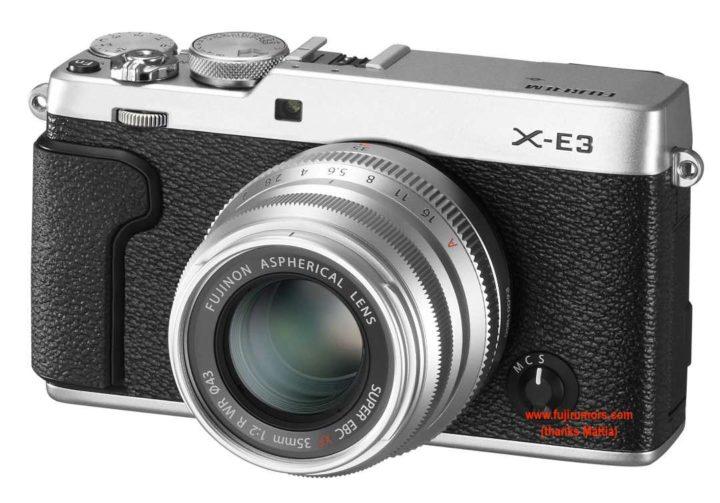 Fujifilm X-E3 Mock-up by FR-reader Mattia