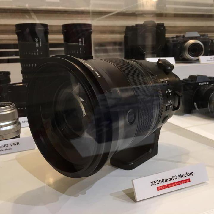 Fujinon XF200mmF2 OIS