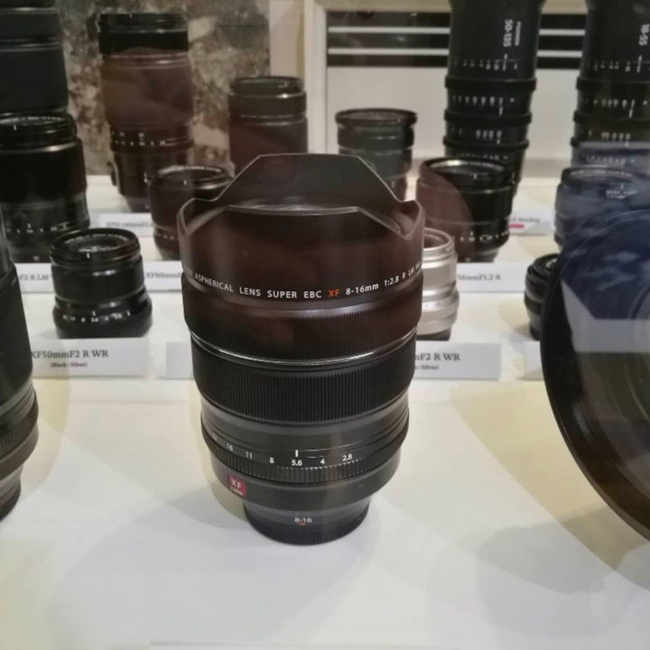 Fujinon XF 8-16mm F2.8