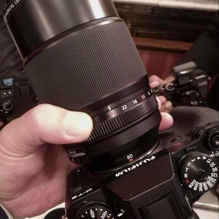 Fujinon XF 80mm F2.8