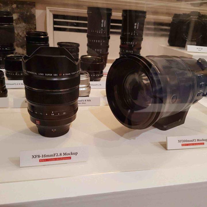 Fujinon XF8-16 And XF200