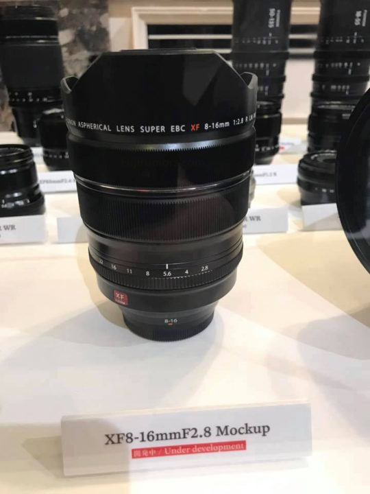 fujinon xf 8 16mm f2 8 available mid 2018 new source and now dear fujifilm we want an xf. Black Bedroom Furniture Sets. Home Design Ideas