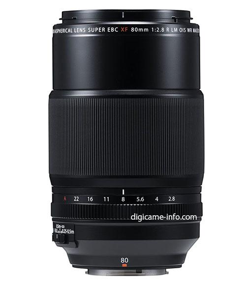 Fujinon XF 80mm F2.8 Macro