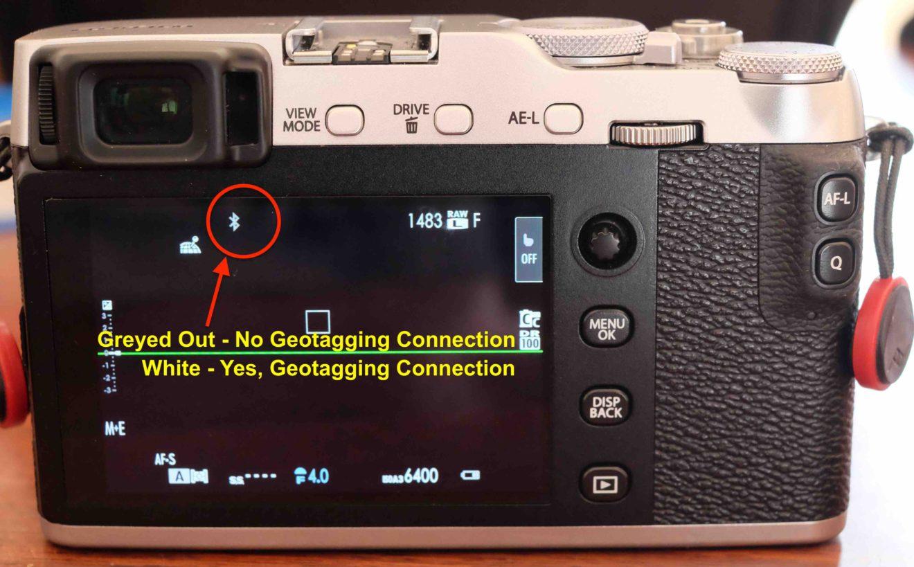 X-E3 Bluetooth connection symbol: Fujifilm X System / SLR Talk Forum