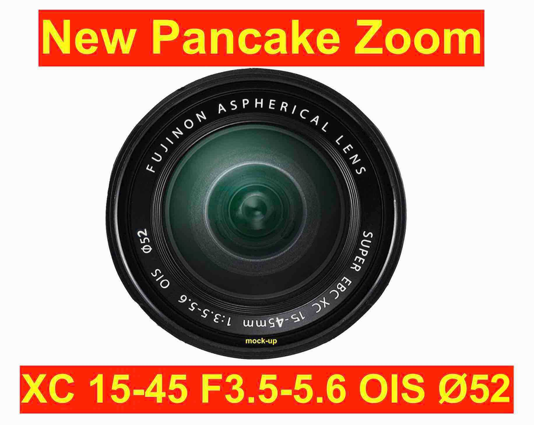coming soon new fujinon xc 15 45mm f3 5 5 6 ois pancake. Black Bedroom Furniture Sets. Home Design Ideas