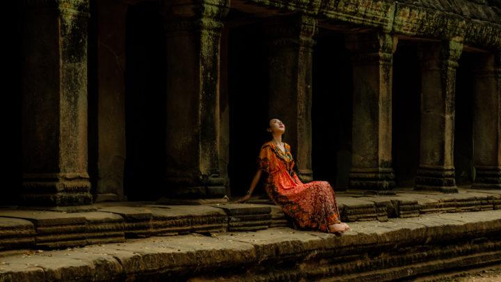 Temple Belle - Ta Prohm, Angkor, Siem Reap, Cambodia, 2018
