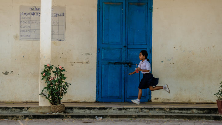 Late For School - Siem Reap, Cambodia, 2018
