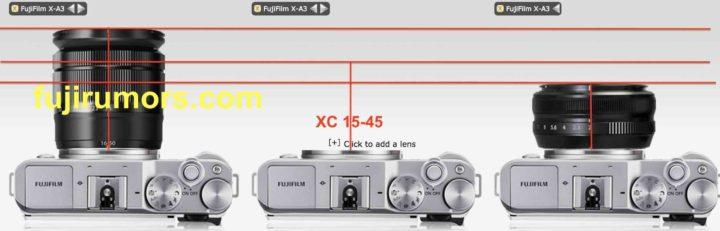 XC 16-50 Vs. XC 15-45 Vs. XF18