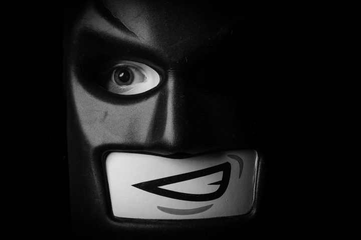 My youngest has resorted to batman masks to hide from the camera - Fujifilm X-E3 - XF35mmF2 - 1/1000s - f8 - ISO200
