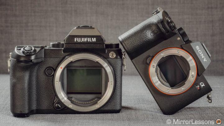 Sony A7rIII Vs  Fujifilm GFX 50s: