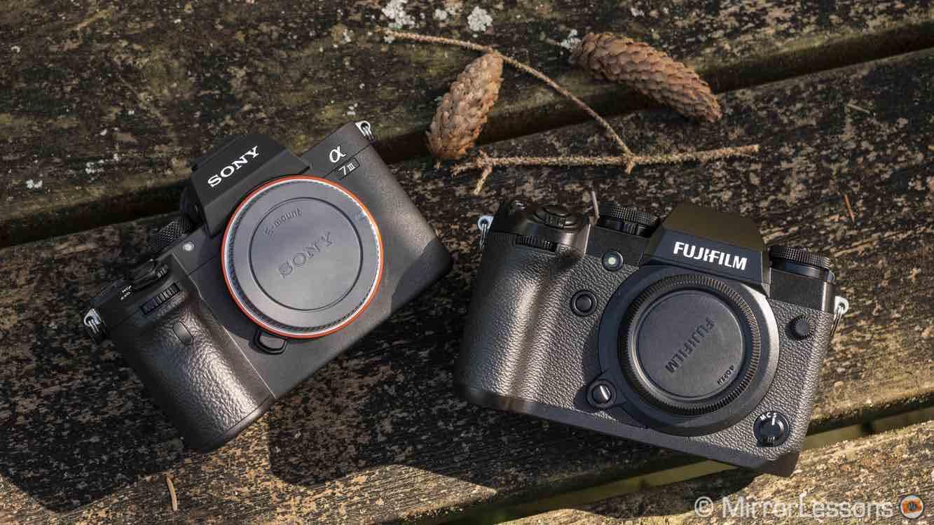 Fujifilm X-H1 Vs  Sony A7III Vs  Sony A6500 Comparisons