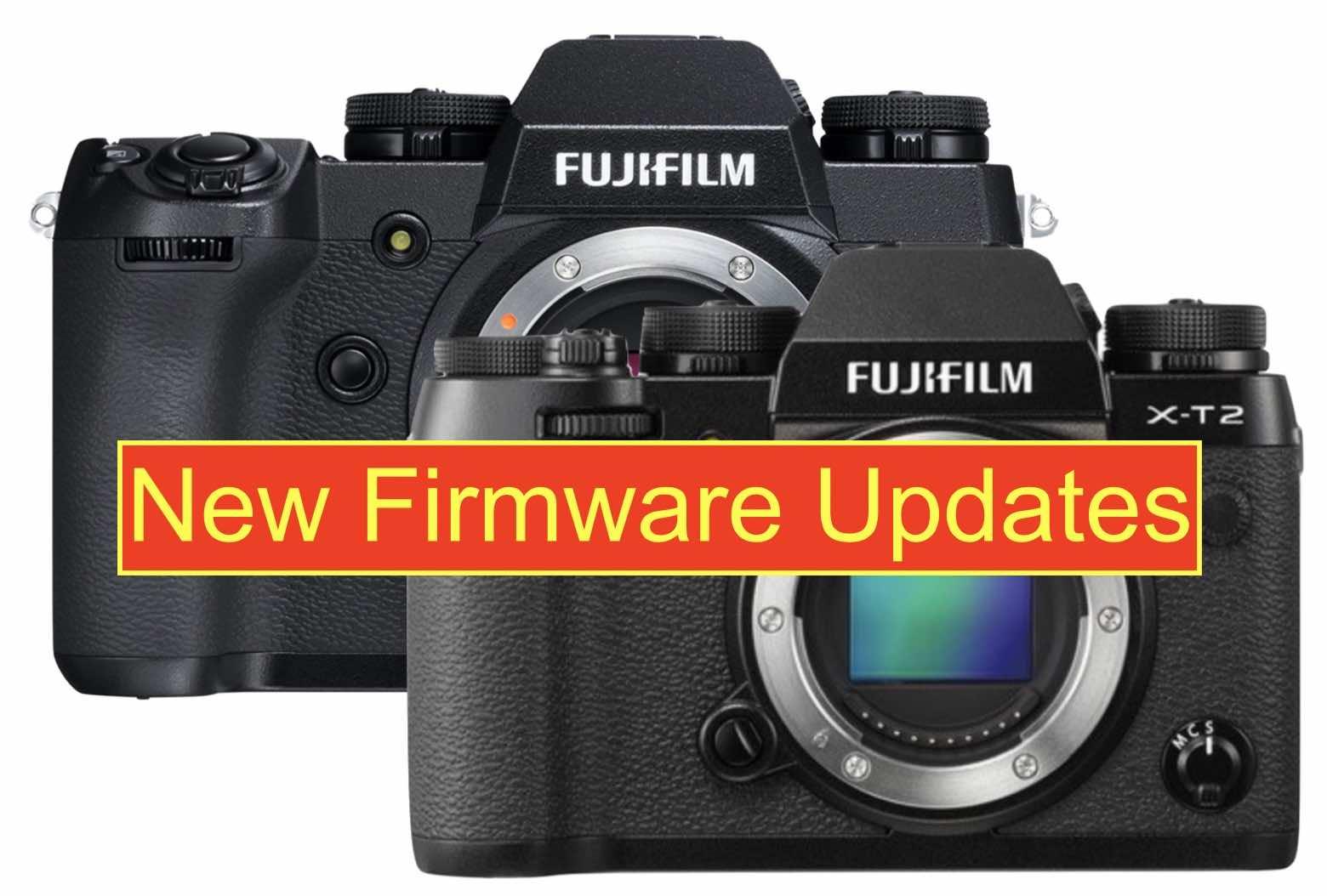 Fujifilm Releases X-T2 Firmware 4.10 and X-H1 Firmware 1.10 - Fuji Rumors