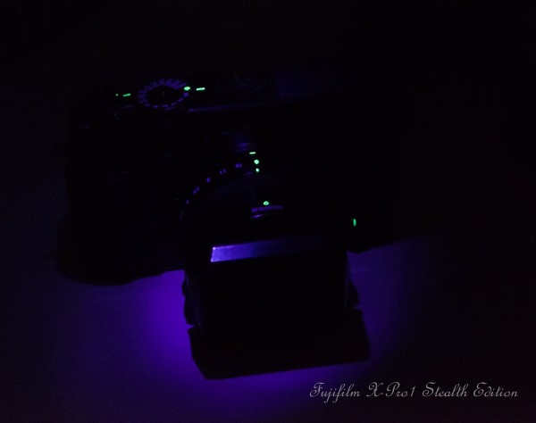"The unrevealed ""Fujifilm X-Pro1 Stealth Edition"" :)"