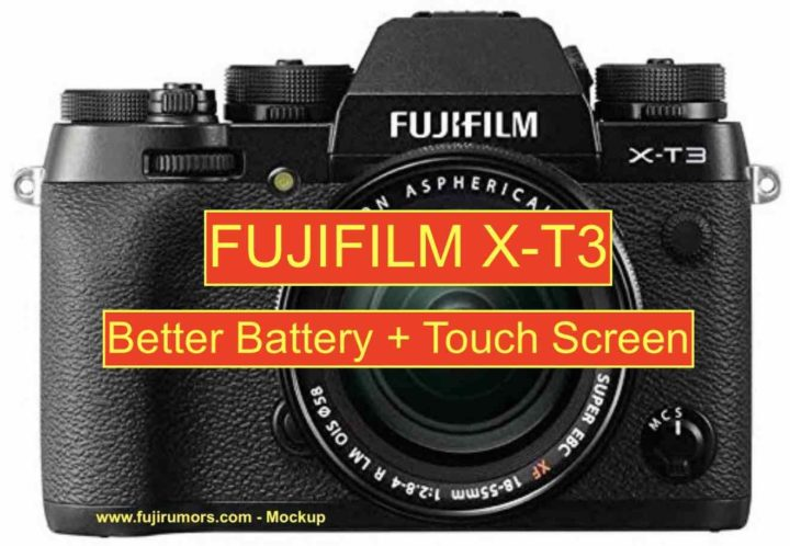 Fujifilm X-T3: Better Battery Performance and Touch Screen  New