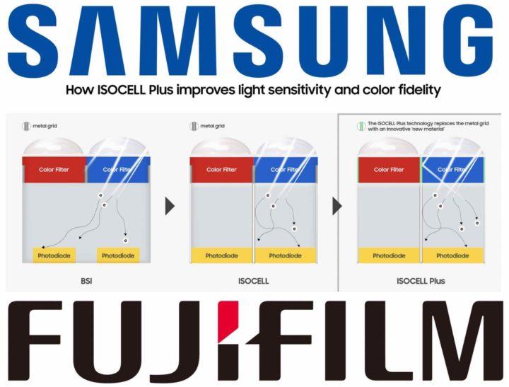 Samsung and Fujifilm Developed New CMOS Image Sensor