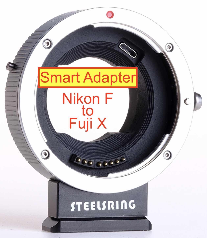 Steelsring Nikon F to Fujifilm X Smart Adapter Development ...