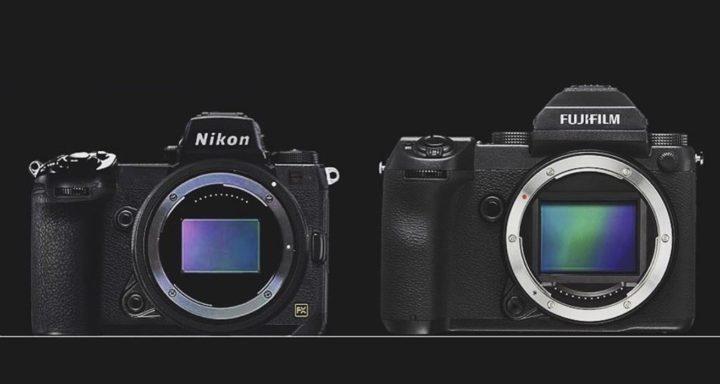 Nikoneye.com - Fujifilm GFX 50S Vs. Nikon Full Frame Size Comparison