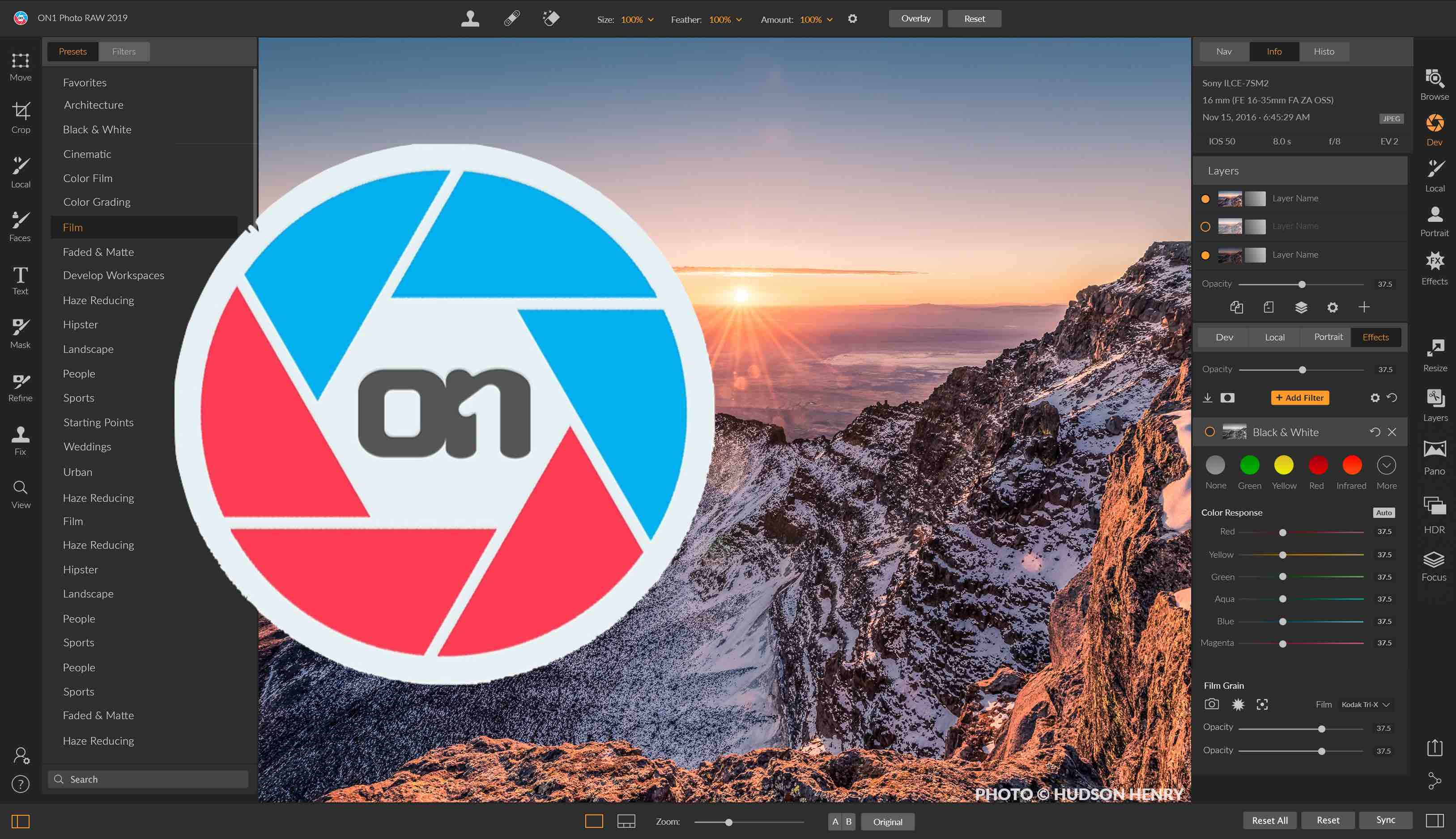 Leaving Lightroom Part 2: ON1 Photo RAW 2019 with Complete Lightroom