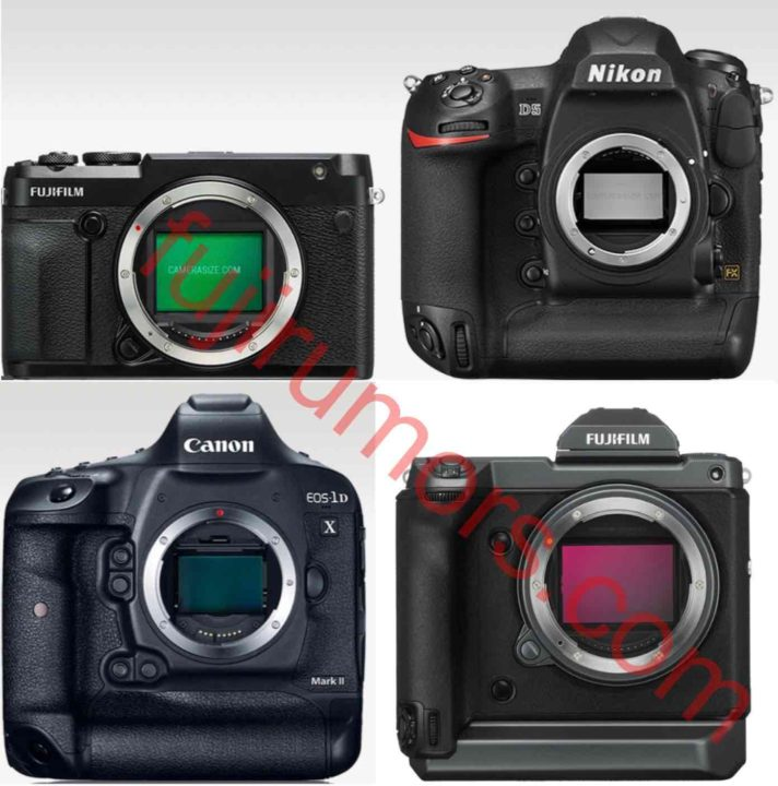 Size Comparison: Fujifilm GFX 100S vs Sony A7III, Nikon D5
