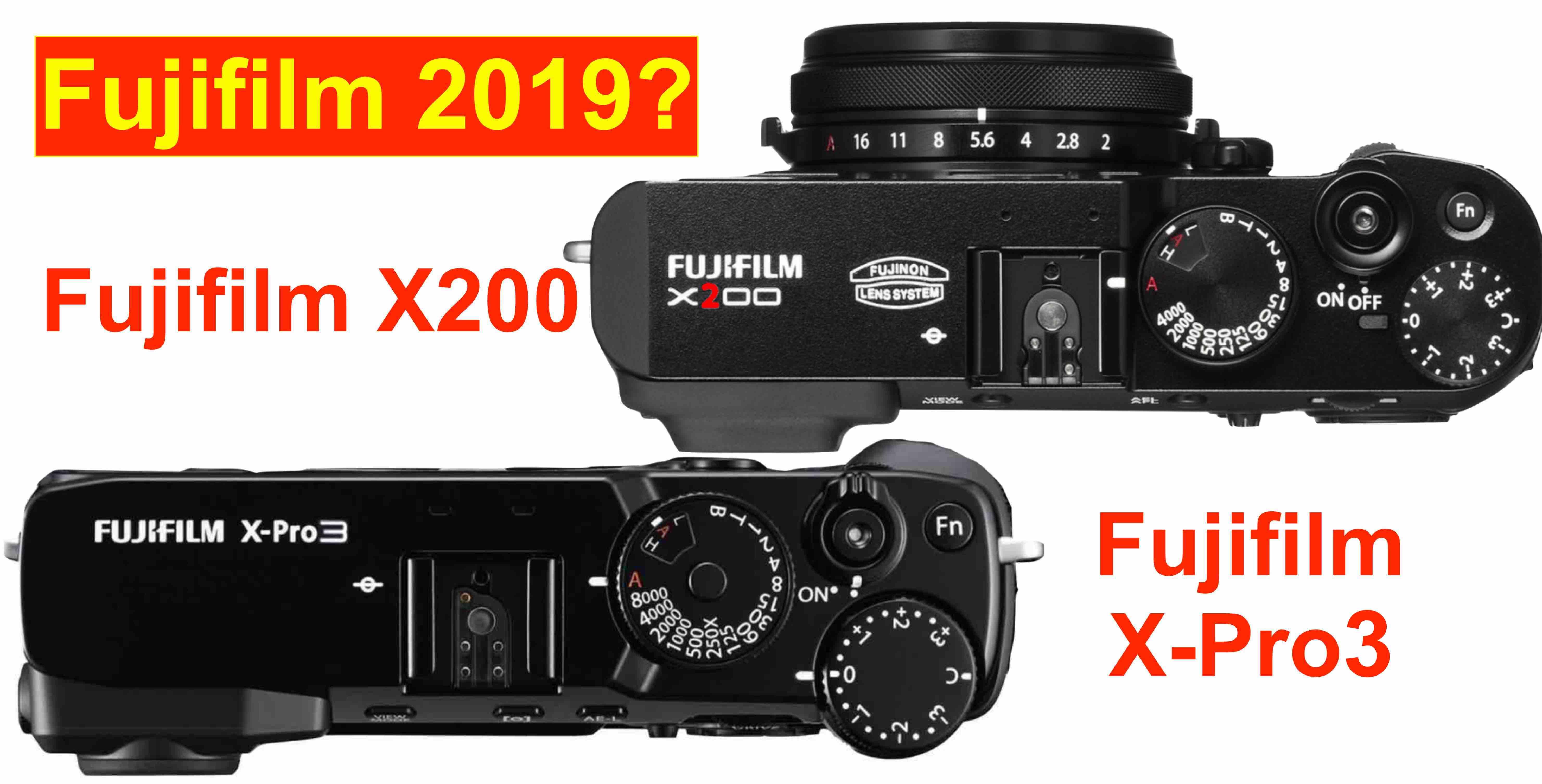 Fujifilm X-Pro3 (and Fujifilm X200?) Coming in 2019