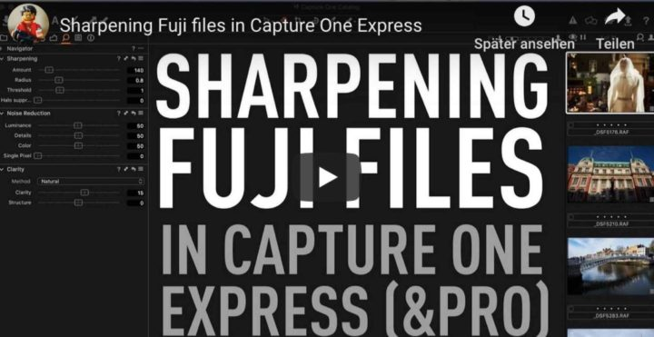 Capture One Pro 12: Sharpening Fujifilm Files, New Features Overview, Jonas Rask Capture One 12 Coverage and More