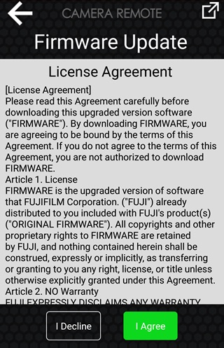 Tap Download and review the license agreement
