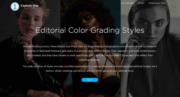 Capture One Launches Editorial Color Grading Styles and Save