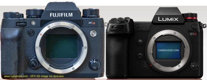 Fujifilm GFX XG vs Panasonic S1R