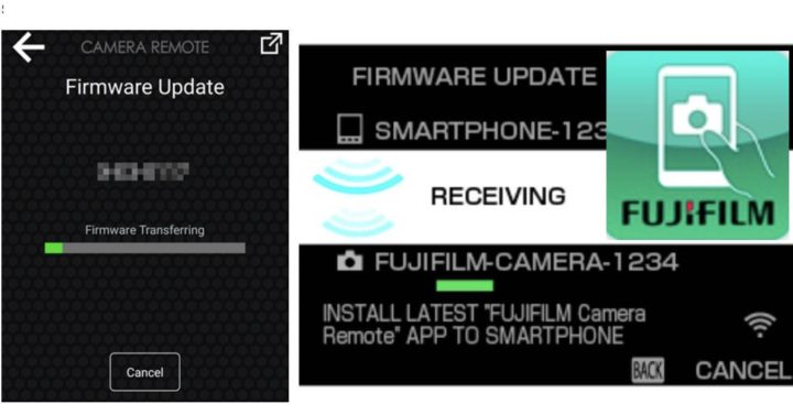 How to Update Your Fujifilm Camera Firmware using the Camera Remote App and More Firmware Update Tips