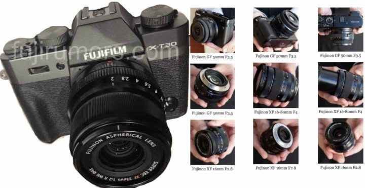 LEAKED: First Images of Fujifilm X-T30 Dark Gray and Hands