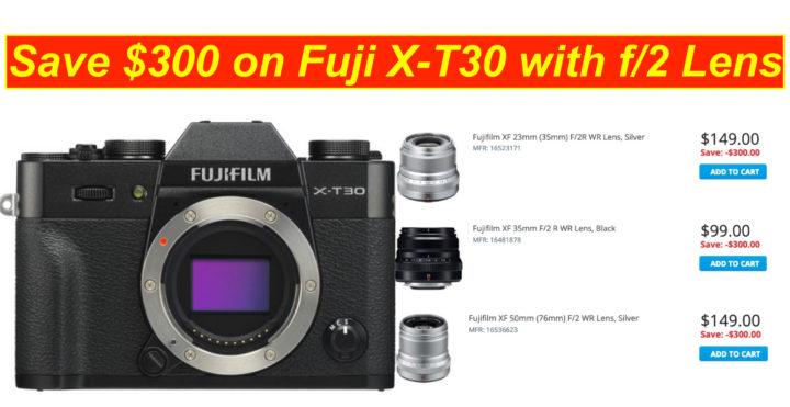 Fuji xt 30