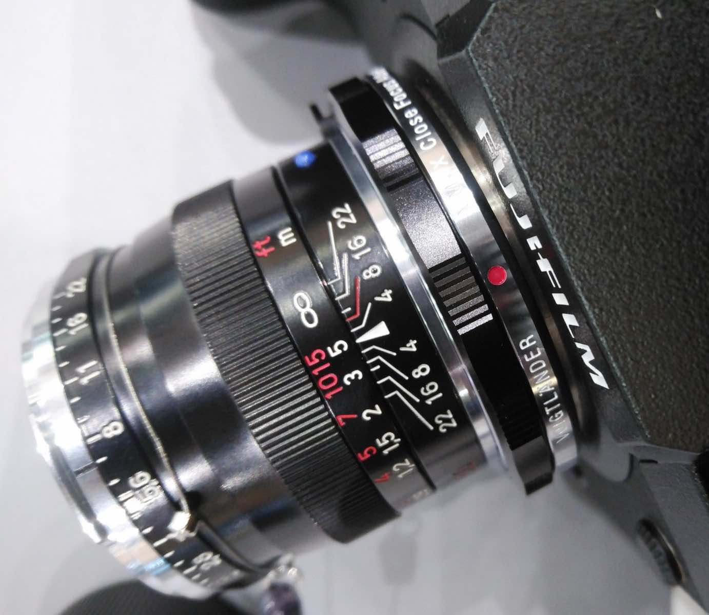 Voigtländer VM-X Close Focus Adapater for Fujifilm X Mount Cameras - First Images