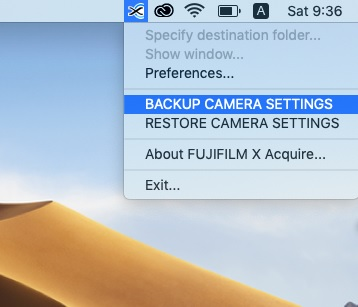 How to Save and Restore Your Camera Settings - Fuji Rumors