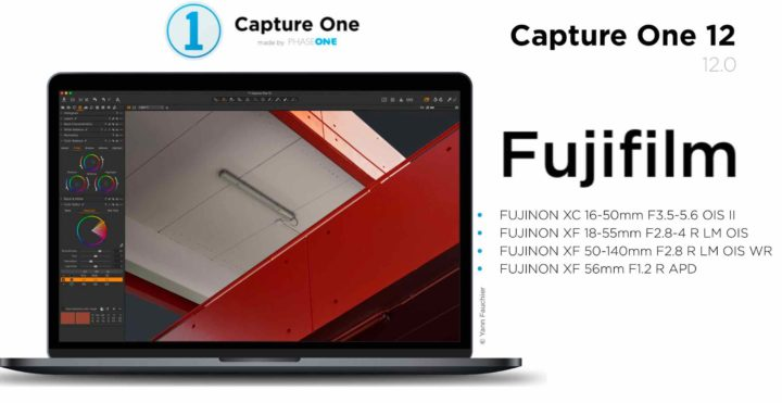 Get a Discount for Capture One Pro 12, Sony and Fujifilm