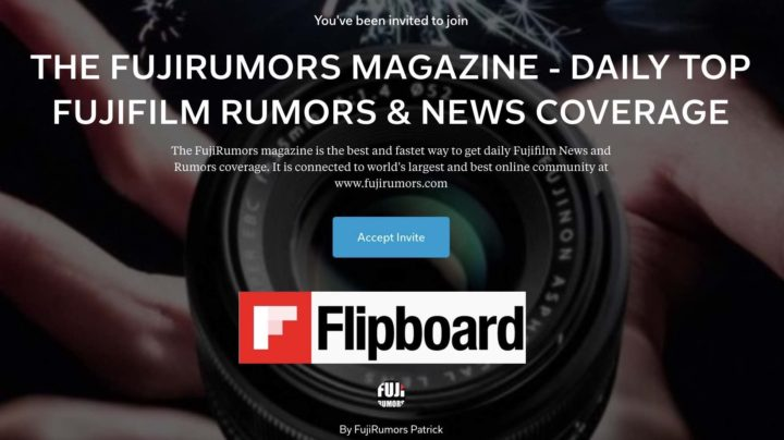 fujirumors.com - Rumors Coming Soon: Stay in the Loop and Follow FujiRumors now Also on Flipboard
