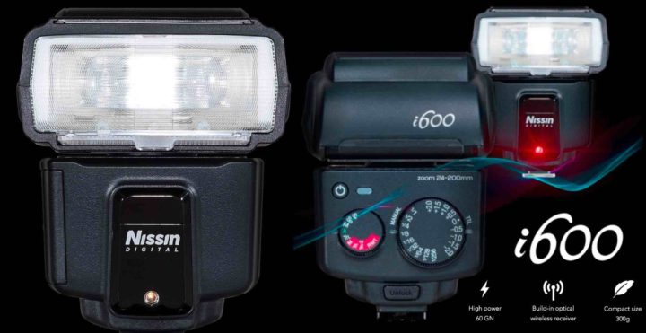 Nissin i600 Flash Announced