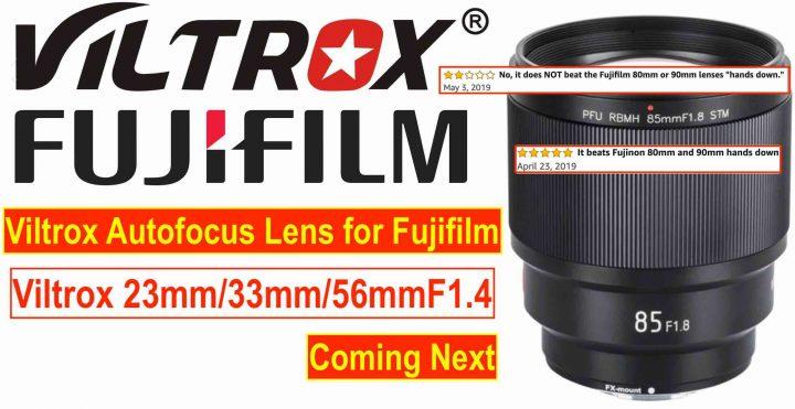 Viltrox 85mmF1 8 Archives - Fuji Rumors
