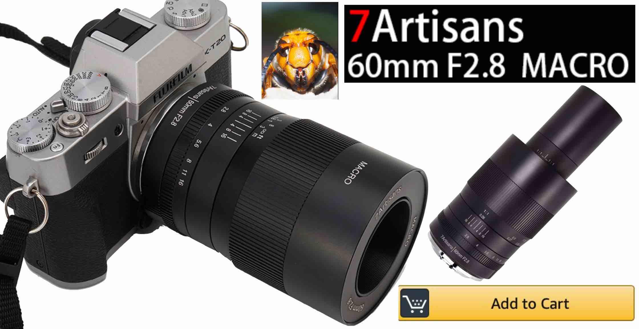 7Artisans 60mm f/2.8 Macro Available - Fuji Rumors