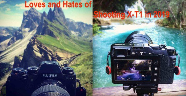 Top 3 Loves and Hates of Shooting Fujifilm X-T1 in 2019 compared to Fujifilm X-E3 - Fuji Rumors