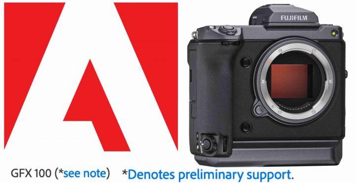 Adobe Adds Fujifilm GFX100 Film Simulation Support - Fuji Rumors