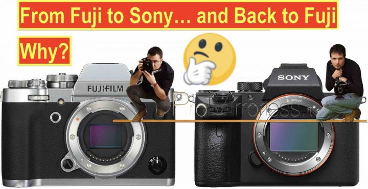 This Guy left Fujifilm for Sony A7III and then Switched Back to Fujifilm X - Read Why Here - Fuji Rumors