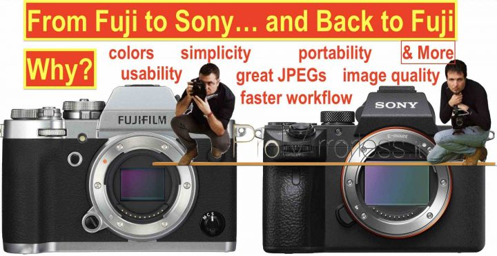 This Guy left Fujifilm for Sony A7III and then Switched Back